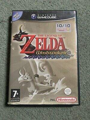 The Legend Of Zelda: Wind Waker / Nitendo Gamecube CASE ONLY , No Game !