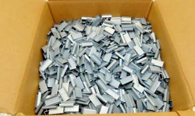 """Box Of 6000 Acme 1304105 1/2"""" Open Seal Buckle For Steel Strap 41"""