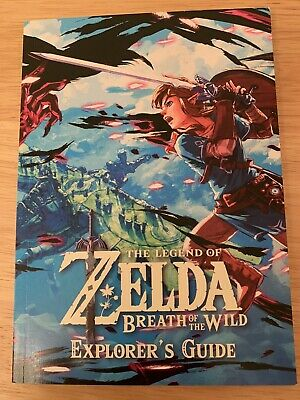 Explorer's Guide, The Legend of Zelda, Breath of the Wild (manual only, no game)