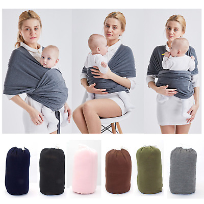 Adjustable BABY wrap carrier Sling Stretchy Pouch Infant Birth Breastfeeding