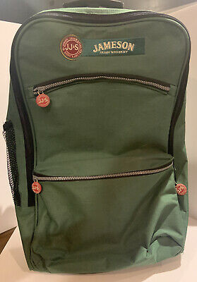 Jameson Irish Whisky Official Backpack W/ Wheels Luggage Roller Bag