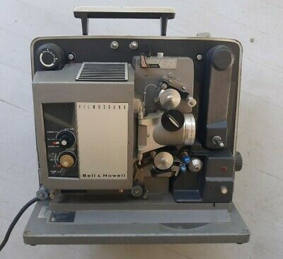 Bell & Howell  Film  And   Sound 16 Mm Movie  Projector  Model  535