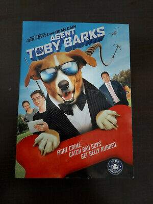 Agent Toby Barks - DVD SIZE - SLIPCOVER ONLY - NO DISC