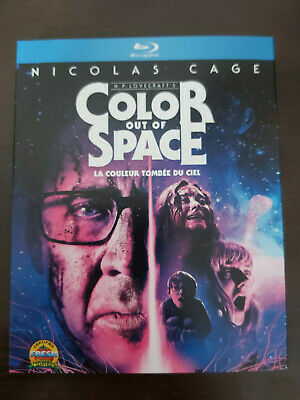 Color Out of Space - BLU RAY SIZE - SLIPCOVER ONLY - NO DISC