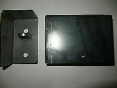 Shipping Container Weld On Lock Box Right Hand Opening Door Security Wrap Round