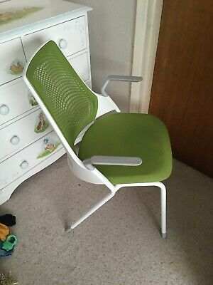 Green And White Herman Miller Sayl Side Chair RRP £420 - Several Available