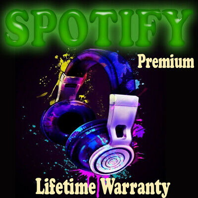 ✨SPOTIFY Premium LIFETIME ✨ 1 YEAR WARRANTY ✨FAST DELIVERY✨ NEW Or OLD
