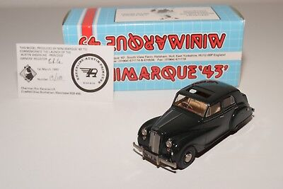 * Minimarque '43 Austin Princess Ds2 Saloon Open Sunroof Green Mint Boxed