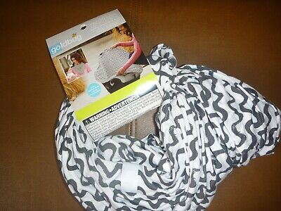 Go by Goldbug 4-IN-1 Nursing Carseat Shopping Cart Cover NEW