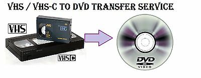 VHS to DVD transfer service Multiple