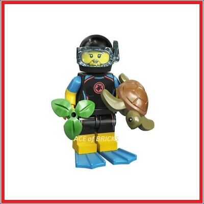 LEGO Collectible Minifigure Series 20 (71027) - Sea Rescuer (SEALED)