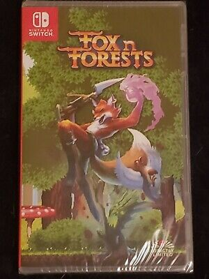 Fox N Forests - Nintendo Switch - Super Rare Limited Run - 3000 Copies Worldwide