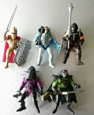 King Arthur and the Knights of Justice Vintage 1992 Figure Set Lot 5 Complete