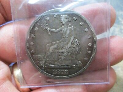1878 S Seated Trade Dollar Extra Fine Condition