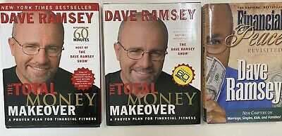 Dave Ramsey 3 Book Lot Total Money Makeover And Financial Peace