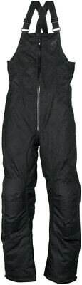 Arctiva Womens Pivot Insulated Snowmobile Pants Snow Bibs Black XS