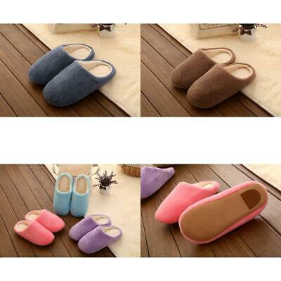 Man Slippers, Floor Shoes, Warm Plush, Slippers Candy Colours