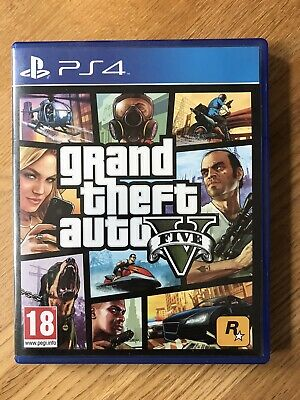Grand Theft Auto V 5 Premium Edition (PS4) Sony PlayStation GTA 5 PAL Game