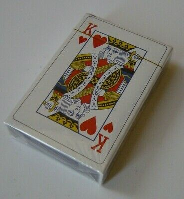 Playing Cards, Professional quality plastic coated, 52 card deck plus 2 jokers