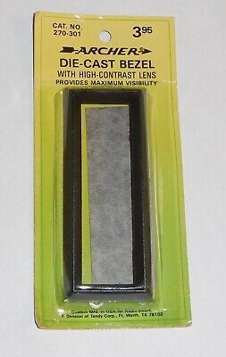 Archer ~ Die Cast Bezel Faceplate ~ High Contrast Lens No. 270-301. NOS
