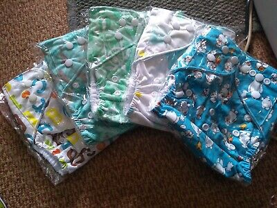 5 new birth to potty outers have pockets