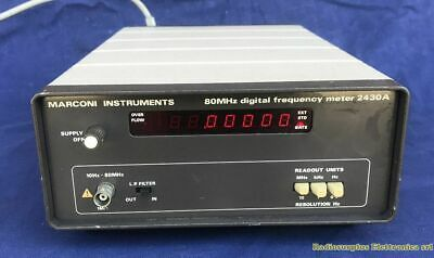 Digital Frequency Meter MARCONI 2430A