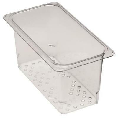 Cambro - 35CLRCW135 - 1/3 Size 5 in Clear Camwear® Colander Food Pan