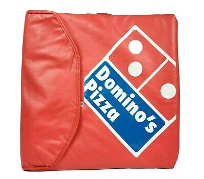 Vintage Domino's Pizza Bag Red Insulated Fast Food Delivery Bag