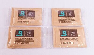 BOVEDA 69% RH (60 GRAM) - 4-PACK (Made in the USA)  New - Sealed - Free Shipping