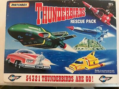 Matchbox THUNDERBIRDS Rescue pack 1994
