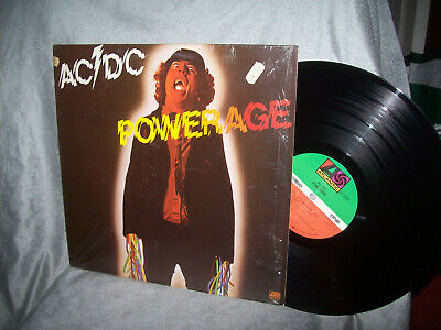 "AC/DC  ""Powerage""   in SHRINK    1978    Atlantic     Bon Scott"