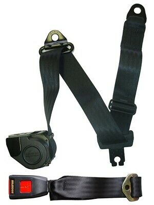 Seat Belt Auto Lap And Diagonal Blk 500//45 Securon Genuine Quality Replacement