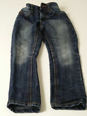 Boys Next Blue Mid Wash Adjustable Waist Denim Jeans Age 5 Years