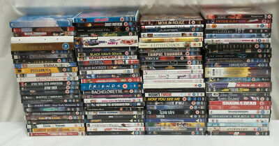 100 x Assorted Genre DVDs Joblot Bundle Carboot - Lot 19