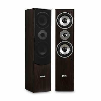 Hi Fi Speakers Pair Home Theatre System Floor standing 350W Max 3 way Sound