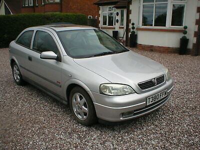 1999 Vauxhall Astra 16 Sxi  One Owner 66000 Miles  Rare 2 Door