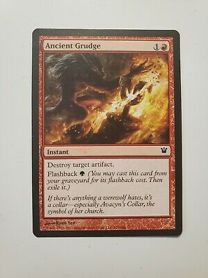 x4 Ancient Grudge Innistrad Magic The Gathering MTG Light Play LP Free Shipping