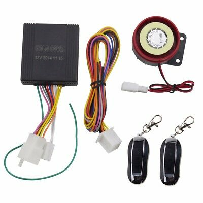 Motorcycle Alarm Scooter+ Double Remote Control 125db