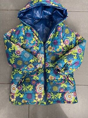 Girls Designer Boboli Coat Reversibile Age 9