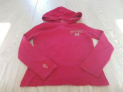 Fat Face Hoody Pink Age 4-5 Years Lightweight