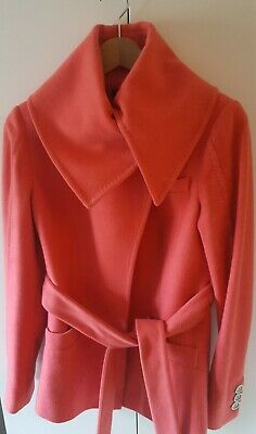 Ted Baker ladies pink coat size 1