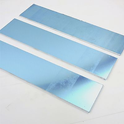 ".375"" thick Precision CAST Aluminum PLATE 5.125"" x 24"" Long QTY 3  sku 151076"