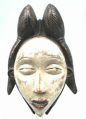Art African Ethnic tribal First - African Mask - Mask Punu - 28 CMS