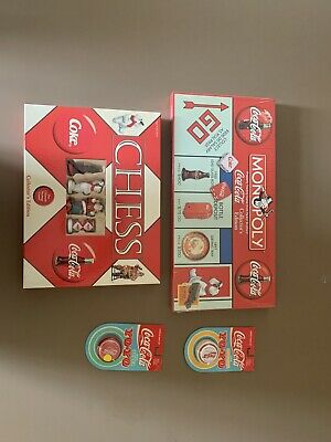 Coca Cola Monopoly And Chess Games