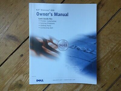Dell Dimension 4550 Series Owners Manual