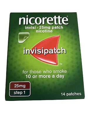 Nicorette Step 1 Patches 14 x 25mg 3/2022
