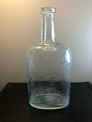 antique, 19th century Dr. S.A. Weaver Canker & Salt Rheum Syrup bottle