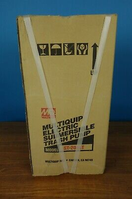 MultiQuip Electric Submersible Trash Pump ST2040T - NEW IN BOX