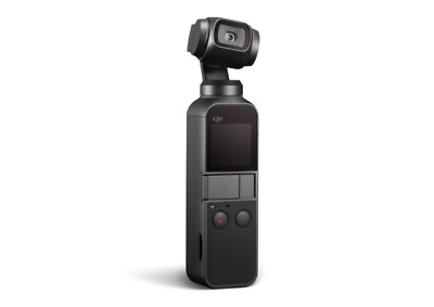 DJI Osmo Pocket 3-Axis Stabilizer and 4K Handheld Camera