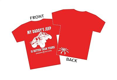 Poison Spyder 50-44-103 Toddler Daddys Jeep T-Shirt